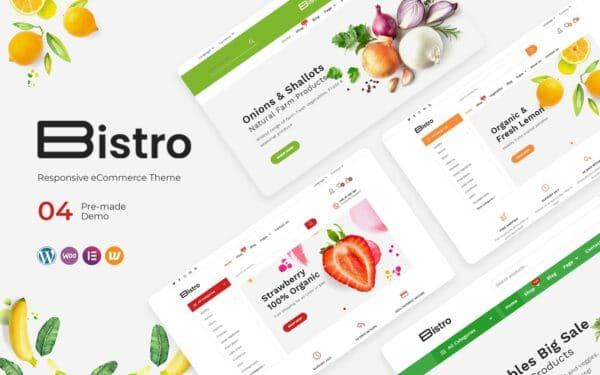 WooCommerce Verkkokauppa - Bistro