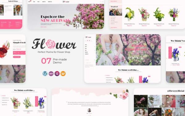 WooCommerce Verkkokauppa - Flower