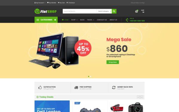 WooCommerce Verkkokauppa - FlatSHOP