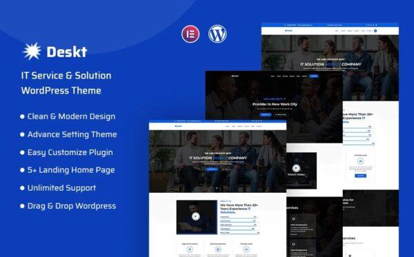 WordPress kotisivut - Deskt