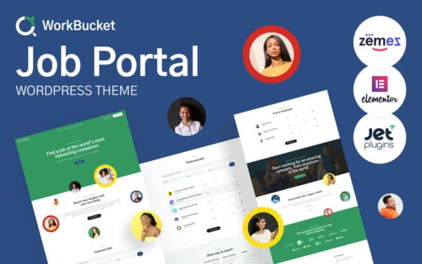 WordPress kotisivut - WorkBucket