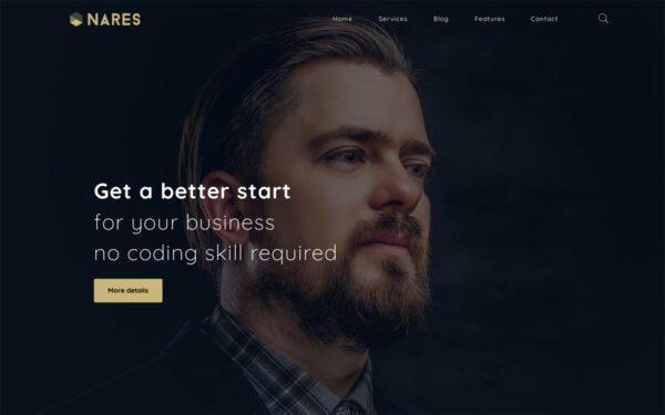 WordPress kotisivut - Nares