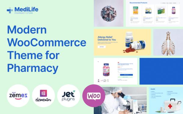 WooCommerce Verkkokauppa – MediLife