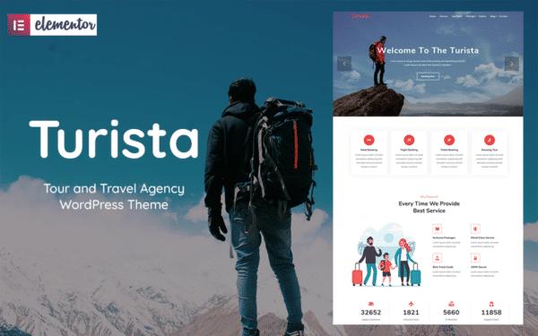WordPress kotisivut - Turista