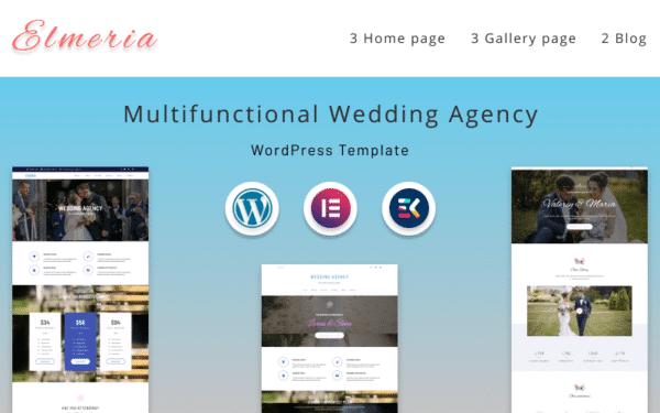 WordPress kotisivut - Elmeria