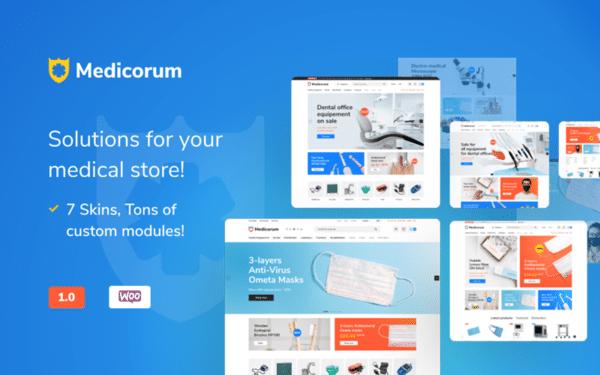 WooCommerce Verkkokauppa - Medicorum