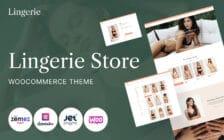 WooCommerce Verkkokauppa - Lingerie