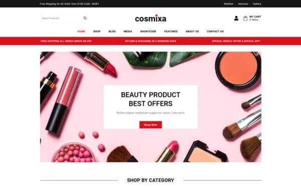 WooCommerce Verkkokauppa - Cosmixa