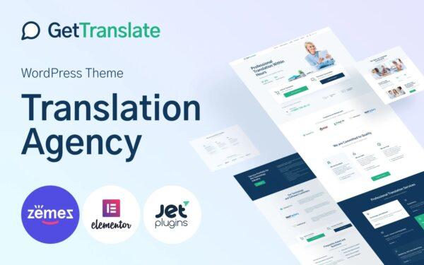 WordPress kotisivut - GetTranslate
