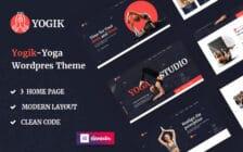 WordPress kotisivut - Yogik