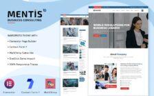 WordPress kotisivut - Mentis