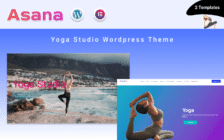 WordPress kotisivut - Asana