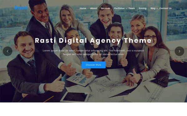 WordPress kotisivut - Rasti