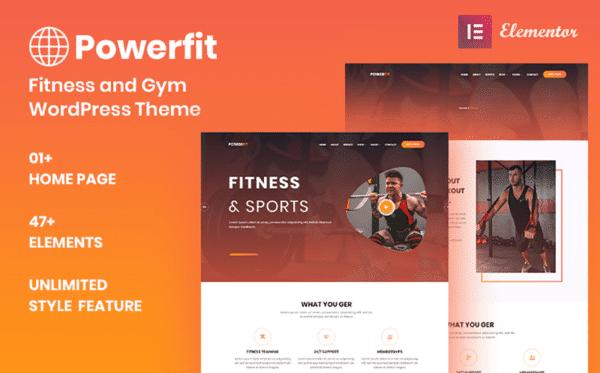 WordPress Kotisivut – Powerfit