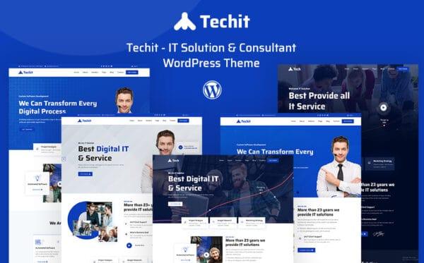 WordPress kotisivut - Techit