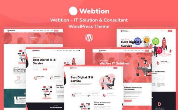 WordPress kotisivut - Webtion