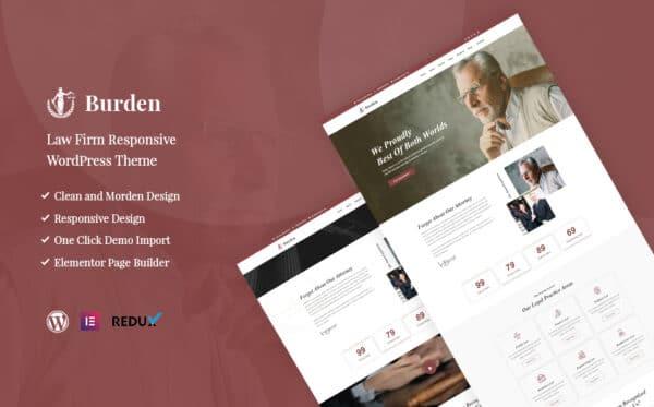 WordPress kotisivut - Burden