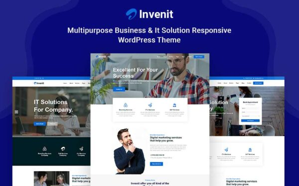 WordPress kotisivut - Invenit