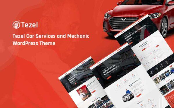 WordPress kotisivut - Tezel
