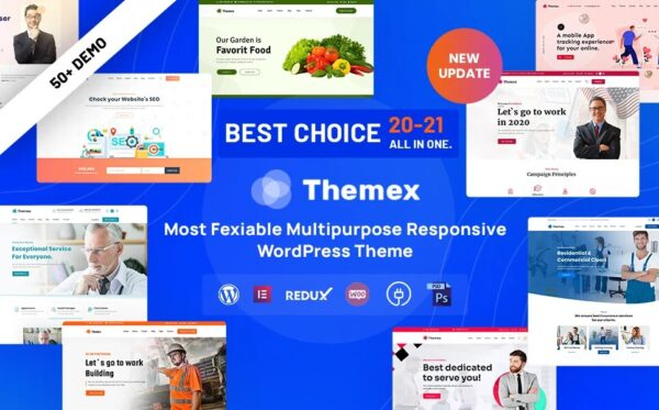 WordPress kotisivut - Themex