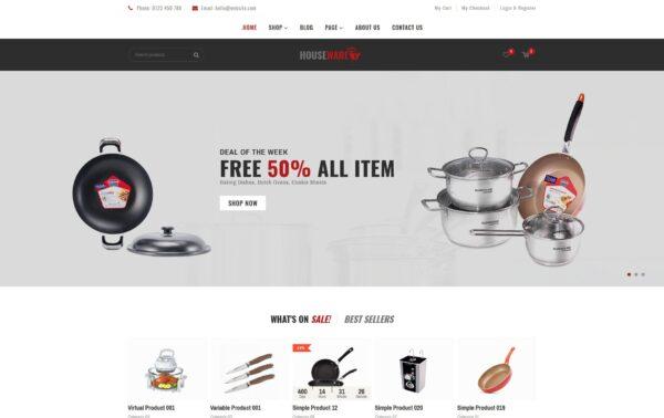 WooCommerce Verkkokauppa - Houseware