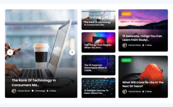 WordPress kotisivut - NewsLab