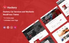 WordPress kotisivut - Hackery