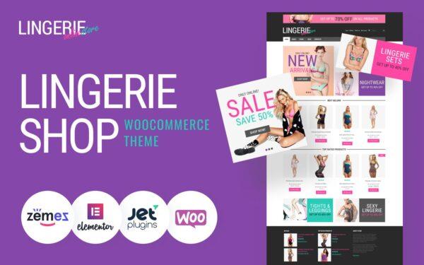 WooCommerce Verkkokauppa – Feminine Lingerie