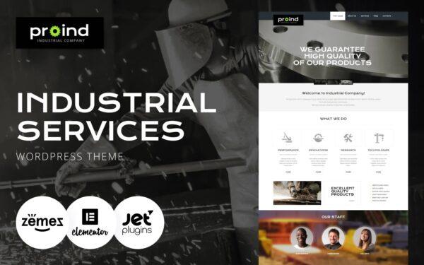 WordPress Kotisivut – Metalliteollisuus