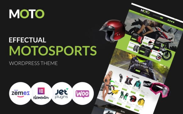 WooCommerce Verkkokauppa – Motorcycle Store