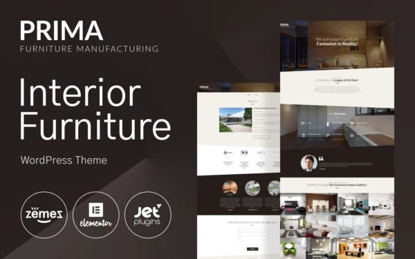 WordPress Kotisivut – Interior Furniture