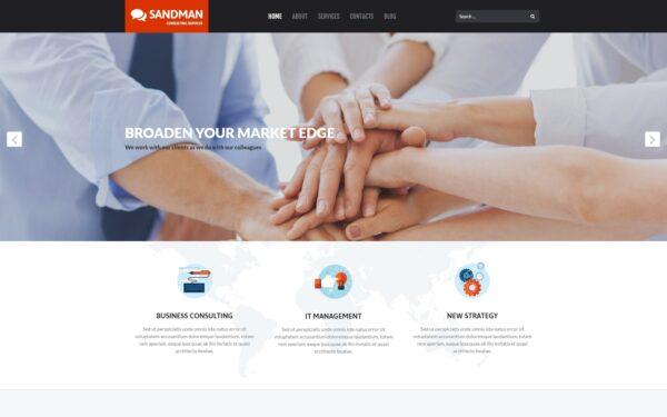 WordPress Kotisivut – Sandman
