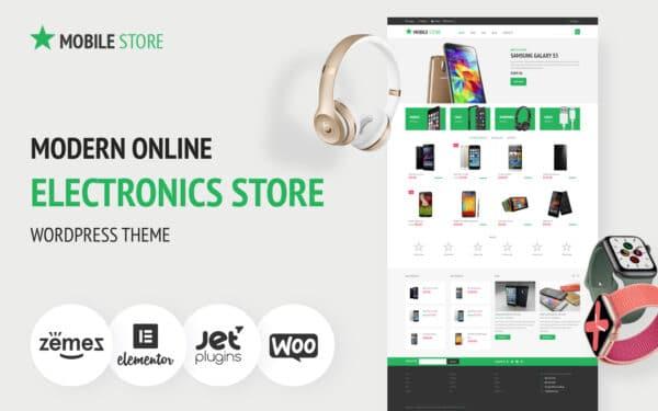 WooCommerce Verkkokauppa – Electronics Store