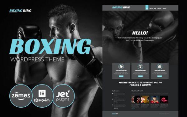 WordPress Kotisivut – Boxing