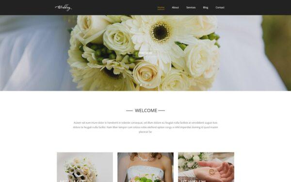 WordPress Kotisivut – Wedding