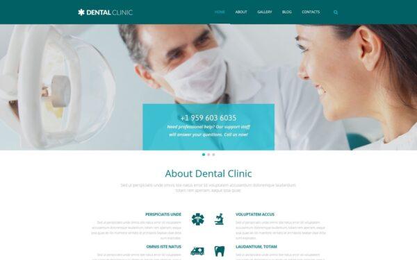 WordPress Kotisivut – Dental