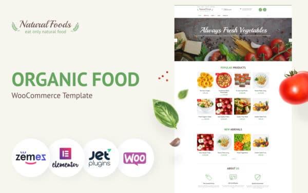 WooCommerce Verkkokauppa – Natural Foods