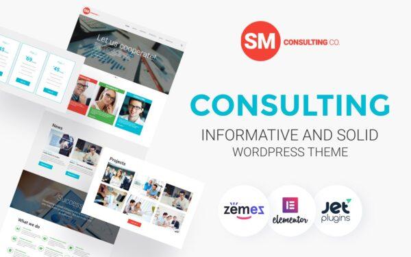 WordPress Kotisivut – Consulting Co