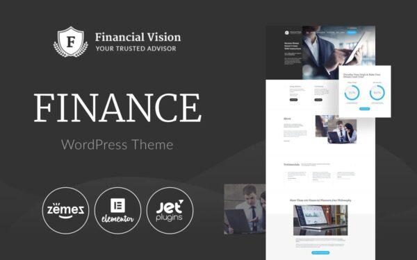 WordPress Kotisivut – Financial Vision