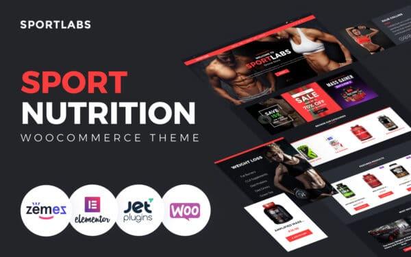 WooCommerce Verkkokauppa – SportLabs