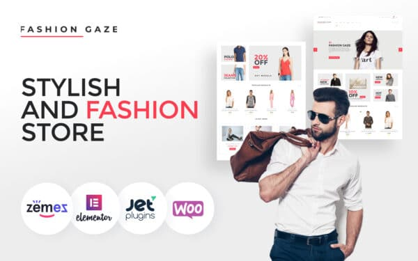 WooCommerce Verkkokauppa – Fashion Gaze