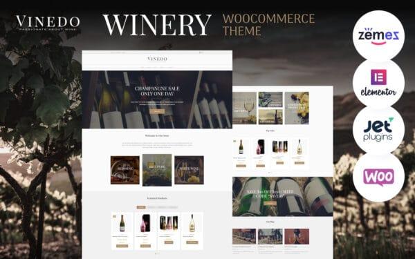 WooCommerce Verkkokauppa – Vinedo