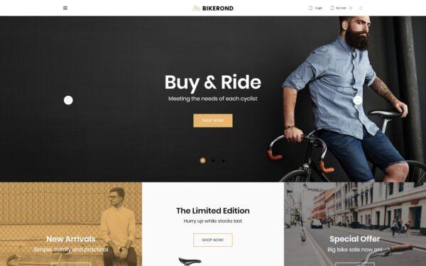 WooCommerce Verkkokauppa – Bikerond