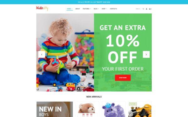WooCommerce Verkkokauppa – Kidz City