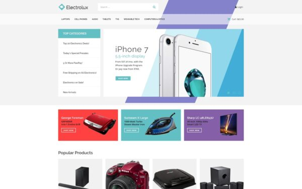 WooCommerce Verkkokauppa – Electrolux