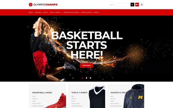 WooCommerce Verkkokauppa – Olympicchamps