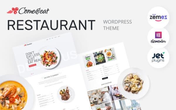WordPress kotisivut – Come&Eat