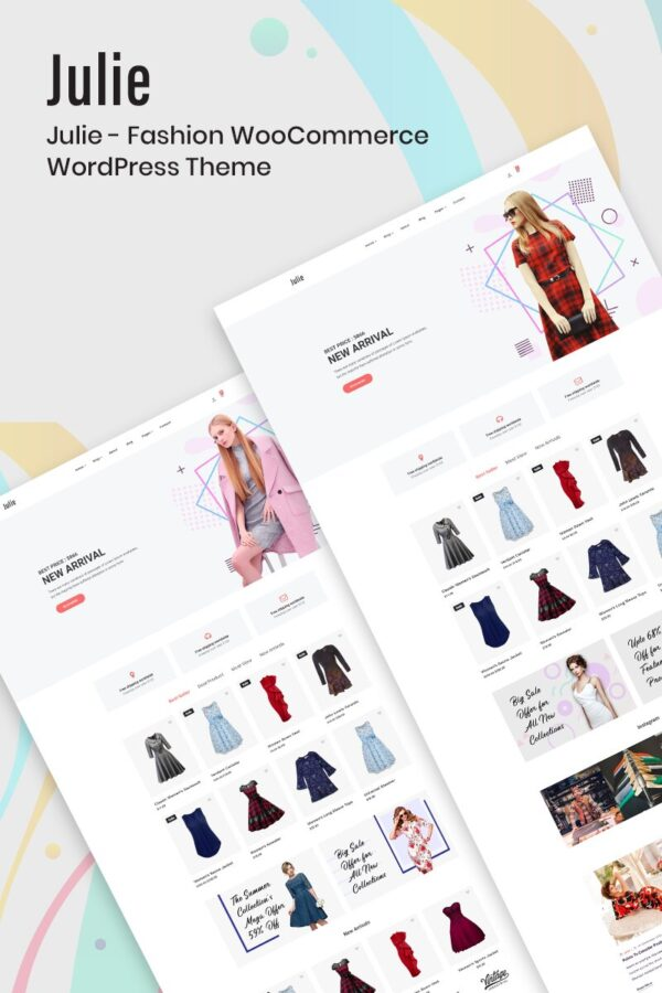 WooCommerce Verkkokauppa– Julie