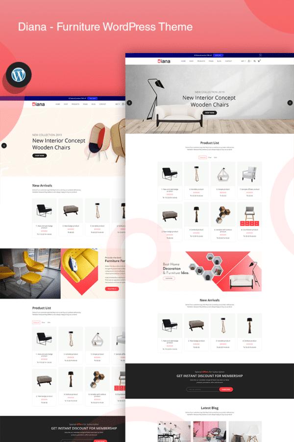 WooCommerce Verkkokauppa – Diana