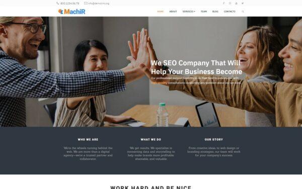 WordPress Kotisivut – Machir